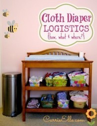 Cloth Diapering Logistics - Carrie Elle | Carrie Elle | International Trade | Scoop.it