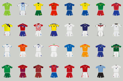 an interactive history of FIFA world cup kits from the last 84 years | What's new in Visual Communication? | Scoop.it