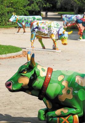 Les vaches vont rentrer au bercail | Artistes de la Toile | Scoop.it