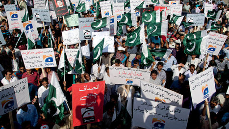 Press Battle in Pakistan Feeds Into Larger Conflict: Government vs. Military   NGOs in Human Rights, Peace and Development   Scoop.it
