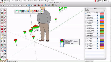 Point Gadget 2 (2016+) for sketchup – The newest sketchup extension | Updates on 3D modeling world | Scoop.it