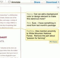 Crocodoc. Reviser et commenter un document en ligne a plusieurs. | Solutions locales | Scoop.it