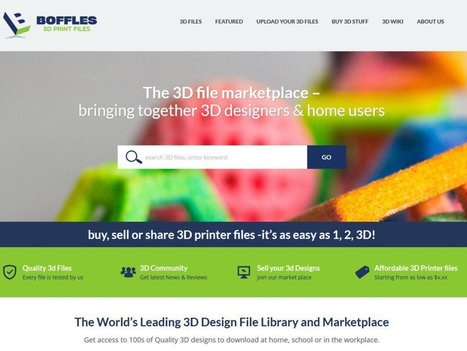 Boffles, a Global Marketplace for 3D Printer Files | 3D Virtual-Real Worlds: Ed Tech | Scoop.it