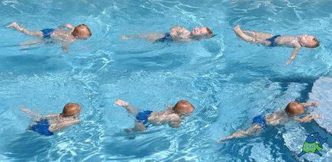 Les bébés sont aptes à la natation, nagent et plongent | Piscine, natation | Scoop.it