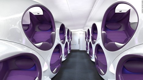 Airline cabins of the future: A new travel golden age? | Travel Tips & Deals | Scoop.it
