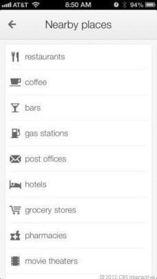 Google Maps for iOS gets first big update | Mobile - CNET News | Criterios de calidad | Scoop.it