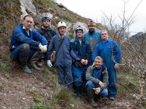 Aida. Nuevo hallazgo de arte rupestre paleolítico en la cueva de Erlaitz (Guipúzcoa) | historian: science and earth | Scoop.it