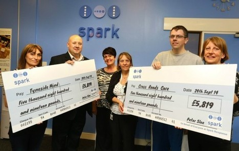 Spark raises almost £12,000 for two local charities   Retail News and Views from Spark eCommerce Group   Scoop.it