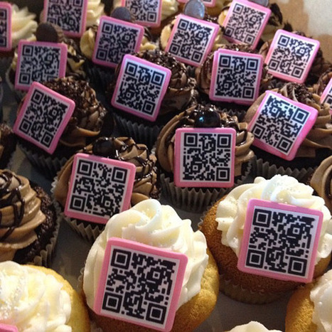 QR Code Cupcakes from CustomXM « QReate and Track (by ... | AniseSmith QR codes | Scoop.it