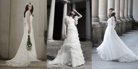 Il trionfo del bianco negli abiti da sposa Alberta Ferretti Forever - Sfilate | Moda Donna - sfilate.it | Scoop.it
