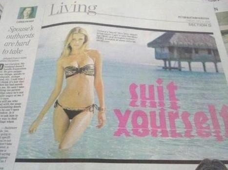Twitter / JohnDonoghue64: When fonts go bad... ...   Print and online publishing   Scoop.it