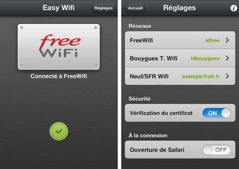 EasyWifi : l'application iPhone et iPad indispensable pour se connecter à la plupart des hotspots wifi | Un Geek à Paris | Scoop.it