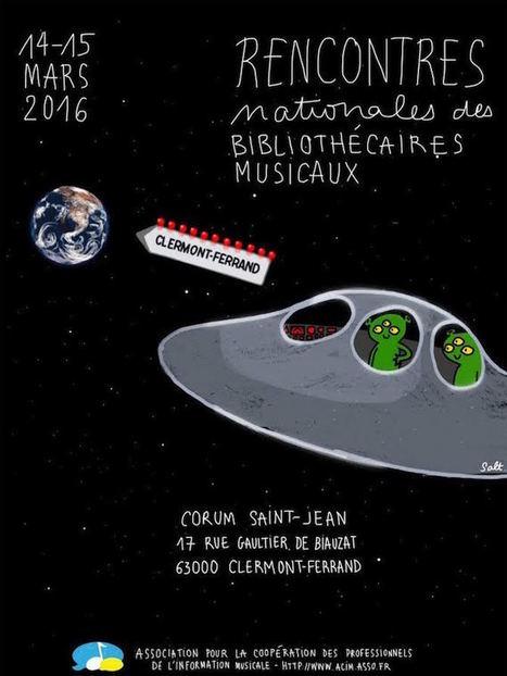 17e édition des RNBM : les bibliothécaires musicaux se retrouvent à Clermont-Ferrand | Nouvelles de la musique | Scoop.it