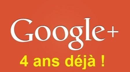 Google+ fête ses 4 ans sans fanfare ni trompette ! - #Arobasenet.com | netnavig | Scoop.it