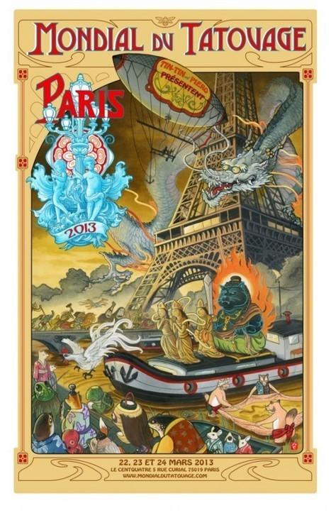 Le Mondial du Tatouage est de retour ! - Un blog en bois | calligraphik | Scoop.it
