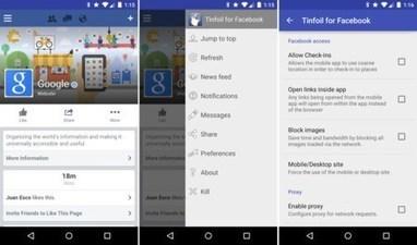 Les 6 applications alternatives à Facebook - DROID APPLI | An_droid | Scoop.it