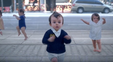 YouTube crowns Evian's baby & me the top UK ad of 2013 | A Level Media Studies | Scoop.it