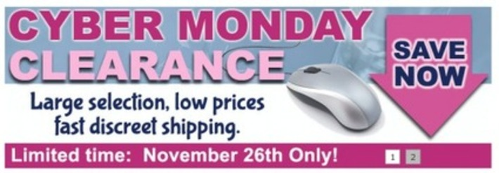 Cyber Monday Exclusive Sales For Adults « Sex~Kitten.net | Let's Get Sex Positive | Scoop.it