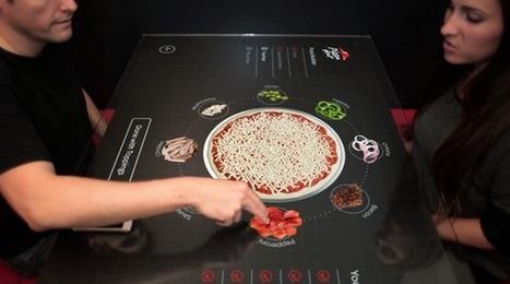 Pizza Hut, modélisez votre propre pizza sur une table tactile [Vidéo] | E-Commerce et Point de vente | Scoop.it