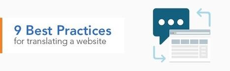 9 Best Practices for Translating a Website - Smartling blog | Translation & Terminology | Scoop.it