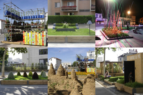 Garden and Outdoor Design Follies on Streets of Lyon | Urban Gardens | Unlimited Thinking For Limited Spaces | Urban Gardens | Floriade 2022 | Scoop.it