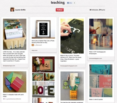 The Teacher's Guide To Pinterest - Edudemic | 2... | 21st century school libraries | Scoop.it