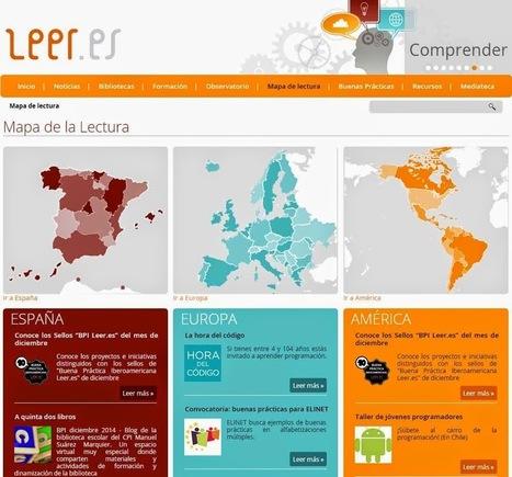 LEER ES: Centro virtual para fomentar la lectura y mejorar la competencia en comunicación lingüística | Educación 2015 | Scoop.it