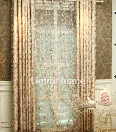 Playerforge - alleniverson's blog - floral curtains make your house look wonderful | wedding dresses | Scoop.it