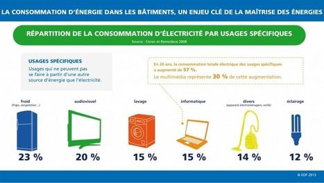 Infographie : qu'est ce qui consomme le plus chez vous ? | Economiser l'énergie | Scoop.it