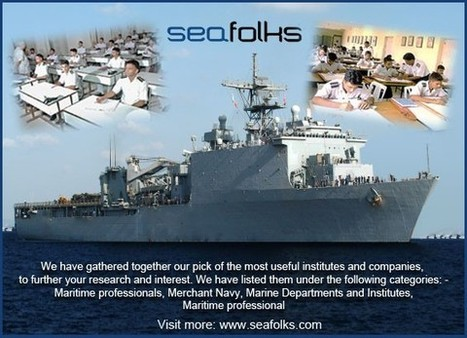 Maritime-professionals | Top 4 Social Networking Websites For Seafarers, Maritime Services | Scoop.it