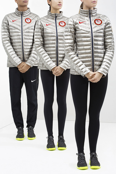 @Nike Outfits U.S. Athletes in Slick Silver and Fleece for 2014 Sochi Olympics | #Design | Scoop.it