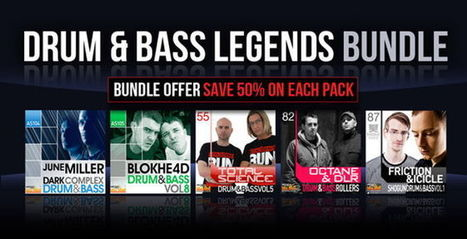 Drum and Bass Legends Bundle Sample Pack by Loopmasters | PRODUCTION of Video Music clips and songs | Scoop.it