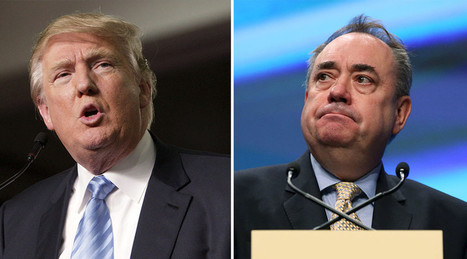 'Donald Trump is too chicken to debate,' says Alex Salmond | My Scotland | Scoop.it