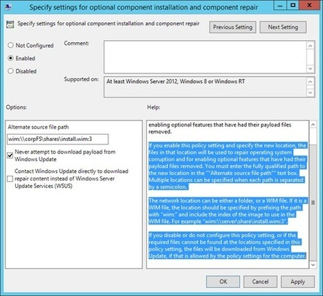 Windows Server 2012 R2 Installation Options and Features on Demand (Part 2 of 5) - Yung Chou on Hybrid Cloud - Site Home - TechNet Blogs   Hyper-v and Windows Server, Office 365, Azure   Scoop.it