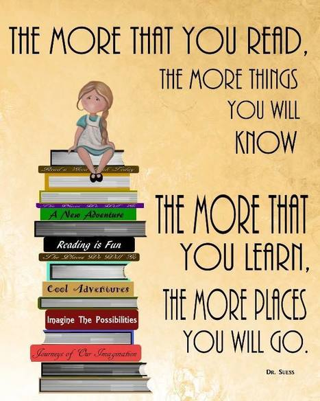 The more you read - the more you will know! | Reading books | Scoop.it