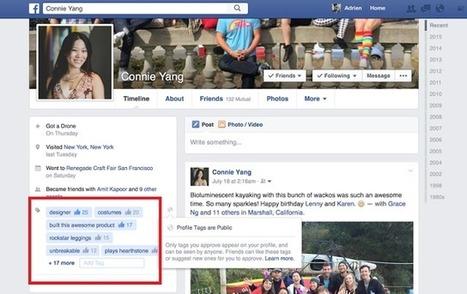 Facebook teste la recommandation des profils par mots-clés comme sur Linkedin I Noel Nguessan | Entretiens Professionnels | Scoop.it