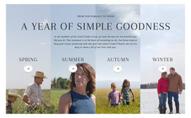 Land O'Lakes Website Shows a Year on Family Farms | International Dairy Market Insights | Scoop.it