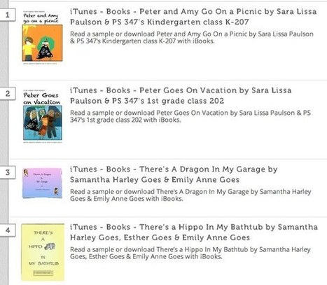 Student-Created iBooks and eBooks » Student Media Examples | Learning Happens Everywhere! | Scoop.it
