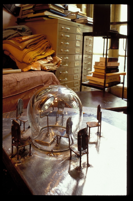 Rare, Candid Photos Show Louise Bourgeois in Her Home and Studio | Studio Art and Art History | Scoop.it