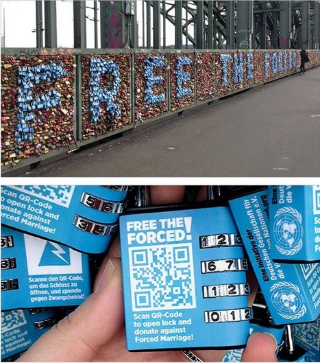QR Code Love Padlocks | QRdressCode | Scoop.it