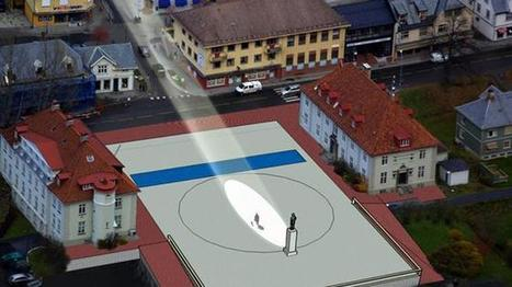 Massive Mirrors To Illuminate Norwegian Town | Troy West's Radio Show Prep | Scoop.it