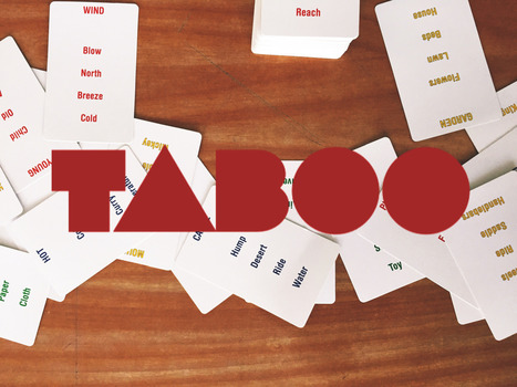 Lesson Idea: Taboo | TELT | Scoop.it