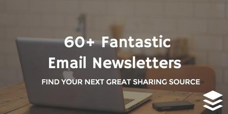 60+ Fantásticas Email Newsletters que todo el mundo debería conocer | Redes Sociales | Scoop.it