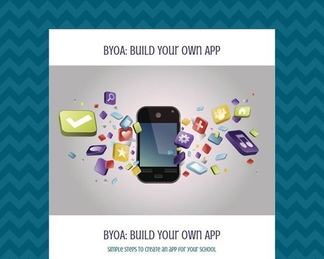 BYOA: Build Your Own App - Tackk | Digital Design for 21st Century Learning | Scoop.it