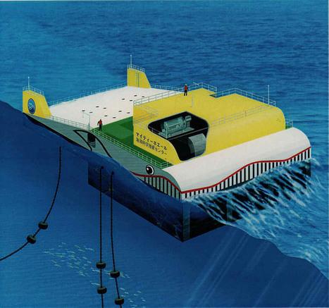 [ Energía ] ¿Sabes usted qué es la energia undimotriz?. Acá lo ... | Energy from the Sea | Scoop.it