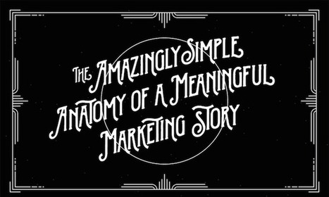 The Amazingly Simple Anatomy of a Meaningful Marketing Story [Infographic] | Content Marketing and Curation for Small Business | Scoop.it