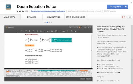 Daum Equation, extensão Google | E-Vila | Scoop.it