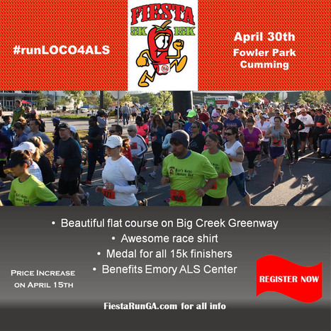 Time to get LOCO at the 10th annual FIESTA 5k/15k Challenge! | ALS Awareness | Scoop.it