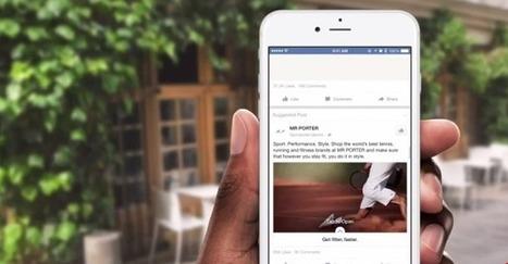Facebook teste un format publicitaire hybride sur mobile - Arobasenet.com | Going social | Scoop.it