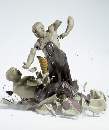 Shattering Porcelain Figurines | Art, Design & Technology | Scoop.it